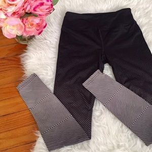 Forever 21 Ombre Workout Leggings